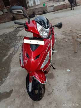 Have a good condition of scooty..