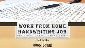 ENGLISH WRITING WORK WORK FROM HOME