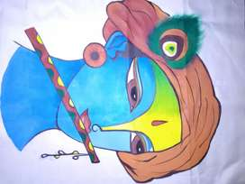 Krishna's painting