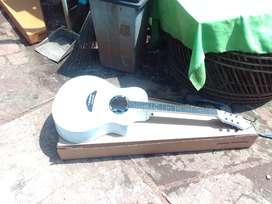 Gitar akustik apx siprus putih