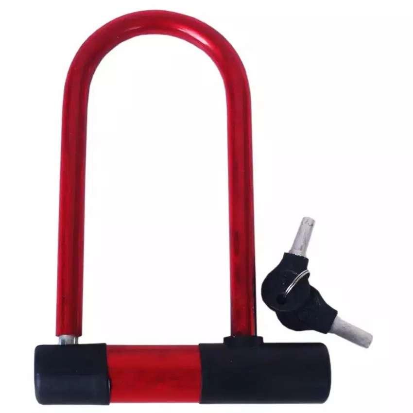 HS Gembok Sepeda  U Lock 0
