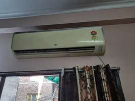 LG 5 star 1.5 ton AC - gently used in working condition