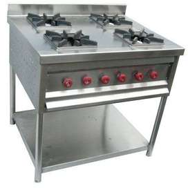 Avaialable. All types of restaurant items like deep fridge , chimney