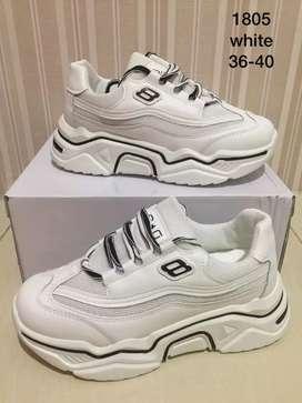 Sepatu sneakers cewek import china 36_40