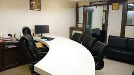 1100 sqft fully furnished office space for rent