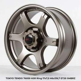 TOKYO TENDO 76059 HSR R17X75 H6X139,7 ET20 SMBRZ (khusus pajero)