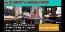PG for Working Womens & Students