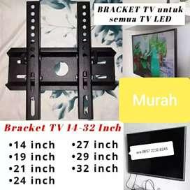 "Bracket tv briket tv 32"" 22"" 49"" 43"" breket tv Samsung LG Sharp"