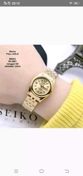 Jam tangan wanita dgn gelang rantai & kode SE 7631
