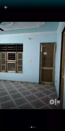 One room set with bathroom