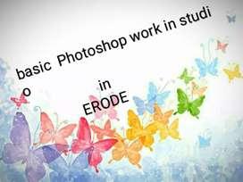 Photo shop. Computer basic