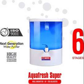 16ltr aquafresh ro system new new with warranty free sarvice with bill
