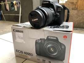 Dijual kamera canon 4000d fullset