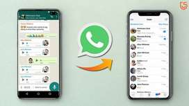 Ipone to Android Data transfer (including whatsapp)