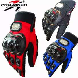 ProBiker Sarung Tangan Motor Model + Batok Racing Full