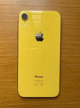 Iphone XR, 64GB, Yellow/Gold