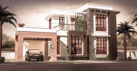 Fully finished house for sale at Erattupetta-Teekoy road side