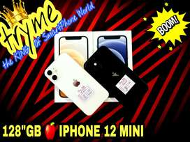 TRYME 128GB IPHONE 12 MINI With 11months Indian Warranty fUll Kit Box