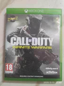 Call of duty Infinite Warfare --- XBOX One Game CD