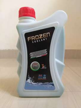 Coolant ( frozen coolant).