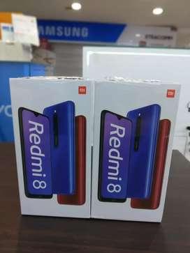 Xiaomi Redmi 8 Ram 4/64 Blue New TAM