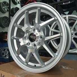 Matador Velg HSR HYURA Ring15x7 silver