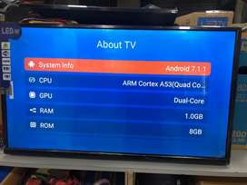 Current running sale on Android led tv