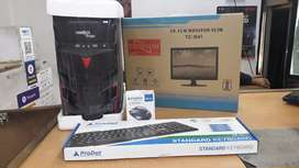 New dual core desktop PC with one year warranty