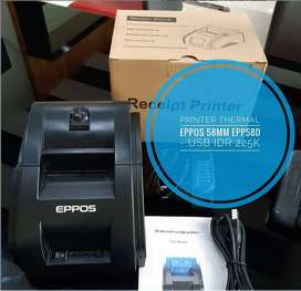 Mini Printer Kasir Thermal EPPOS 58MM EPP58D - USB
