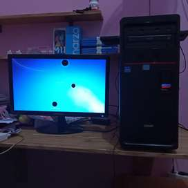 Komputer PC set Intel core i3 ram 2gb VGA 1gb gamer cpu rakitan asus
