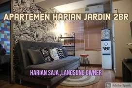 Apartemen Jardin harian murah