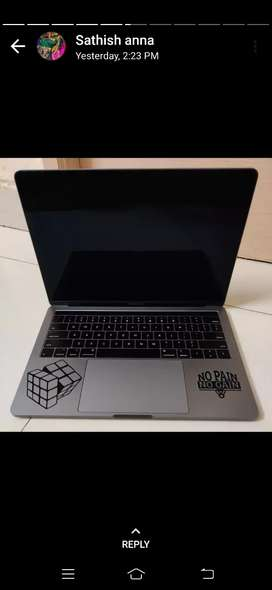 Good quality MacBook Pro 2018 with all options