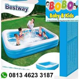 Kolam renang anak besar uk.3meter - kolam bestway 3,05m x 1,83m x 56cm