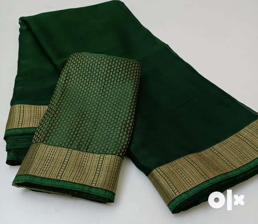 Vishal pure marbel chiffon sarees