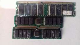 Computer ram and ssd