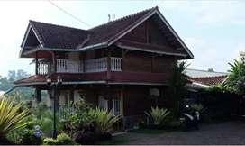 Villa Ciwidey Bandung dijual 5 M NEGO