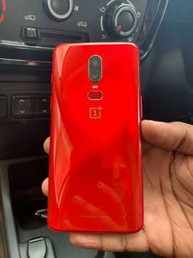 Brand new condition OnePlus 6 (red) for sale!! 8gb/ 128gb