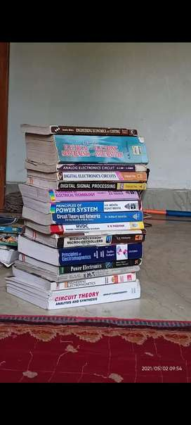 Electrical books for btech