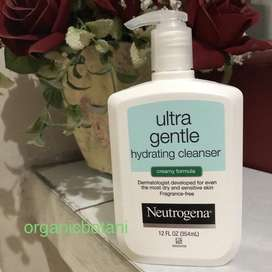 Neutrogena Ultra Gentle Hydrating Cleansers 354 ML Creamy Formula.