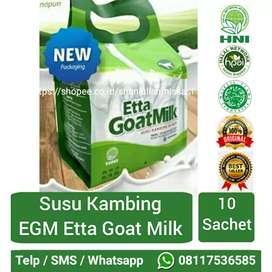 HPAI Pekanbaru EGM Etta Goat Milk Susu Kambing 10 Sachet PKU Riau