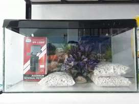 All types of fish foods and accessories available ,tank cleaning