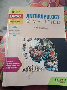 Anthropology for wbcs and upsc