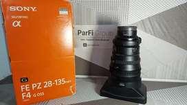 Lensa Sony 28-135 FE PZ G oss