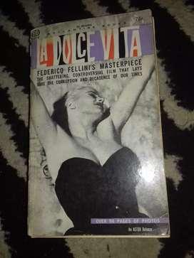 buku film lawas la dolce vita by federico fellini's