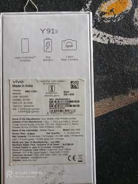 Vivo y91i excellent condition with bill and phone box