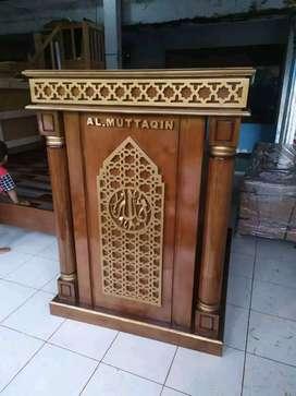 mimbar masjid laku musola