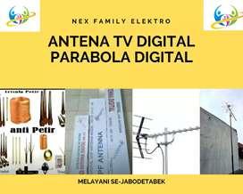 Pusat Jasa Instalasi Pasang Baru Sinyal Antena Tv Frekuensi Uhf
