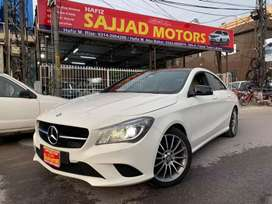 Mercedes Banz CLA-200 Model 2014 Lahore Registered