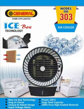 OGeneral Room Air cooler icebox with 2 years motor warranty