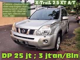 Nissan XTrail 2.5 XT type tertinggi istimewah